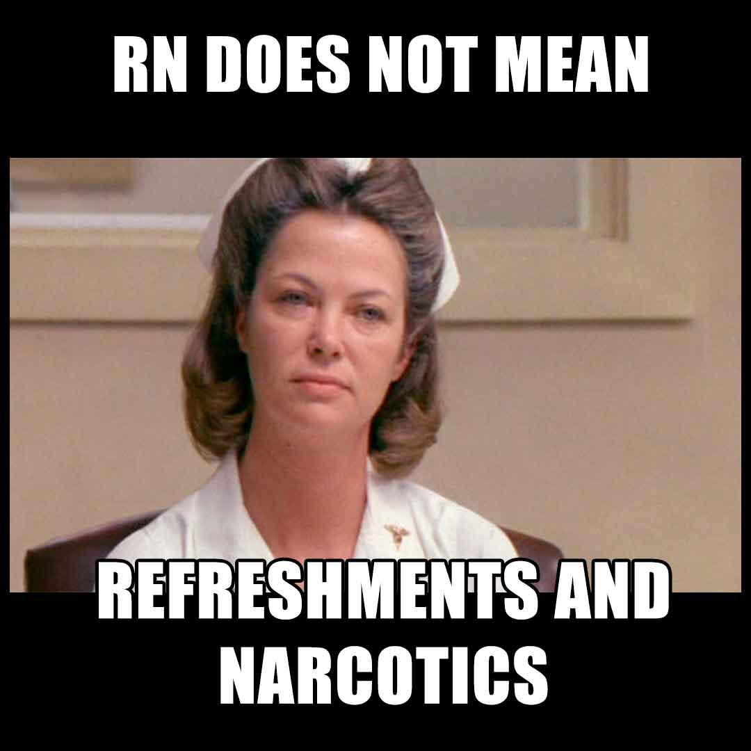 RN does not mean